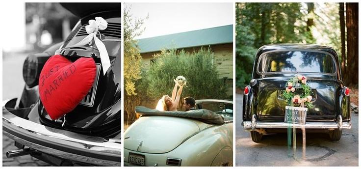 E você, qual o jeitinho sonhado para se locomover no grande dia?  Se o casal é fã de carros antigos ou adoraria andar de Rolls-Royce ou em uma limusine, este é o momento!  Mas se preferem a simplicidade e a economia no orçamento, vejam com um convidado mais próximo para conduzi-los até a cerimônia e a festa.  Há quem goste de decorar o carro com flores e laços, mas é apenas uma questão de gosto e estilo. www.facebook.com/blacktienoivas
