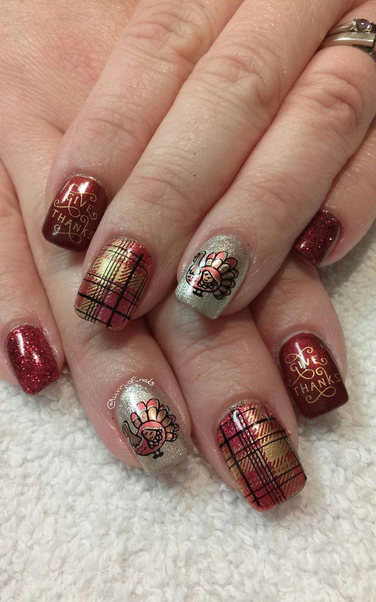 25+ unique Thanksgiving nail art ideas on Pinterest ...