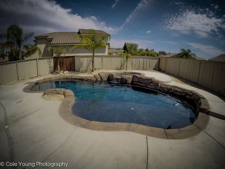 58 best rock swimming pools images on pinterest for Landscaping rocks temecula