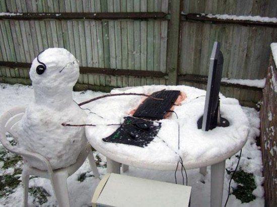 Жуткие истории снеговиков и буйная фантазия