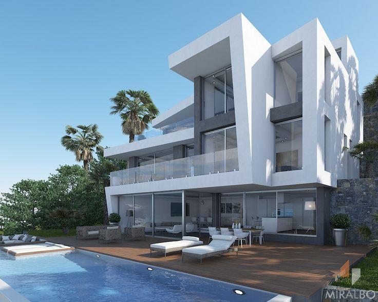 65 best villa projects in progress images on pinterest for L architecture moderne des villa