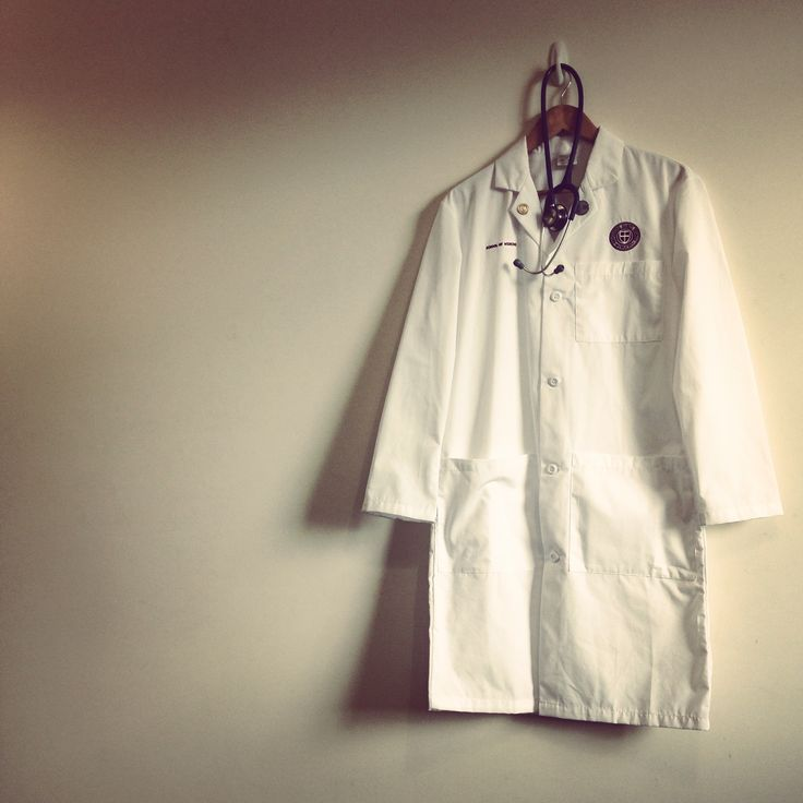 It's all about the white coat #goals