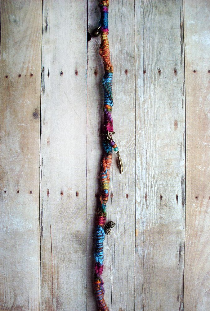 Twisted Bohemain Charm Hair Extension Hippie by PurpleFinchStore, $25.99