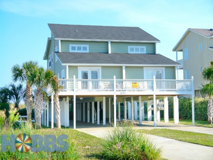 Holden Beach Nc Peace And Quiet 1273 A 6 Bedroom Oceanfront Rental House In Holden Beach