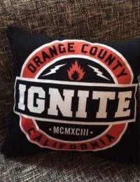 IGNITE - Orange County - DIY Dekokissen