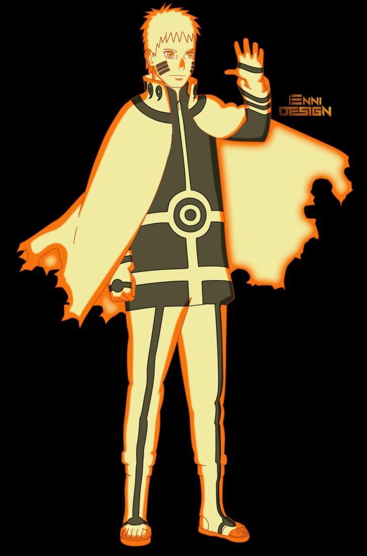 Naruto Uzumaki o 7° Hokage (Boruto) By Ienni Design