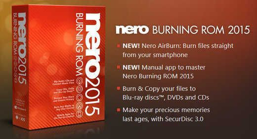 Nero Burning ROM FINAL 2015 v16.0.02200 + Crack