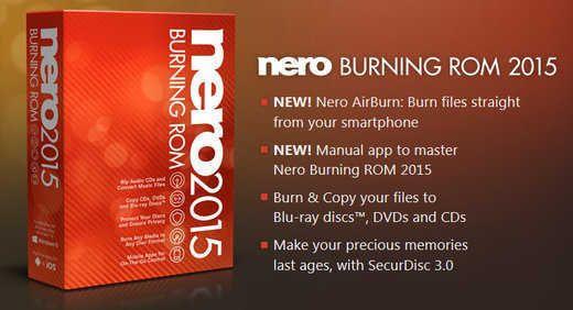 Nero Burning ROM FINAL 2015 v16.0.02200 + Crack