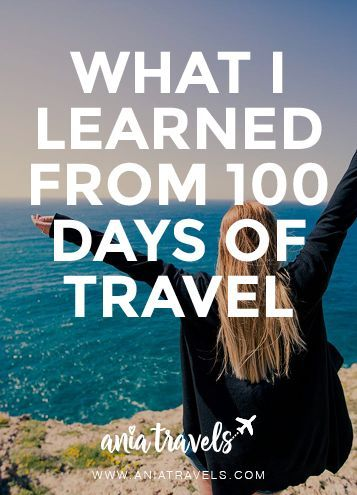 WHAT I LEARNED FROM 100 DAYS OF TRAVEL • Since the day I quit my job, packed up me entire apartment into storage, sold my car, and got on the plane to an unbelievable adventure it has been 100 days. In these past 100 days I have laughed, cried, faced my fears, developed new fears, been to 7 countries, 3 continents, made amazing new friends, and the list goes on. But that's just the beginning of my adventure. I have so many amazing stories to share and so many amazing adventures ahead of me…