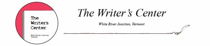 The Writer's Center of White River Junction, VT - Home