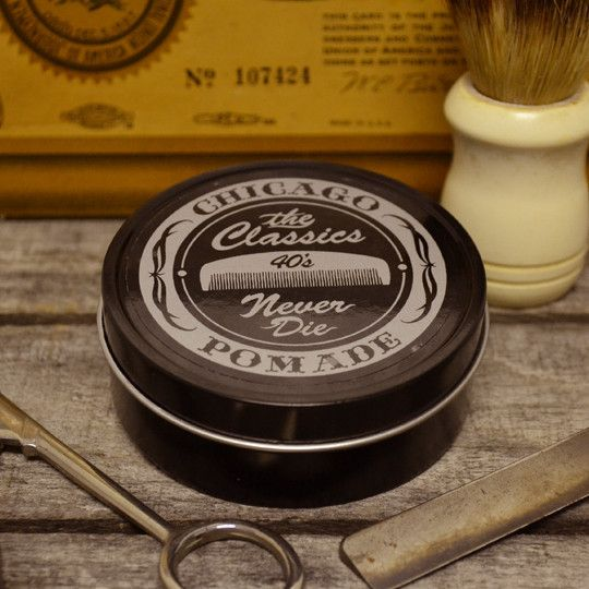 Classics Pomade Co 40's Vanilla Pipe Tobacco Pomade - Oil Based Pomade – Pomade.com - One Stop Pomade Shop
