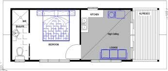 Image result for granny flat floor plans 1 bedroom