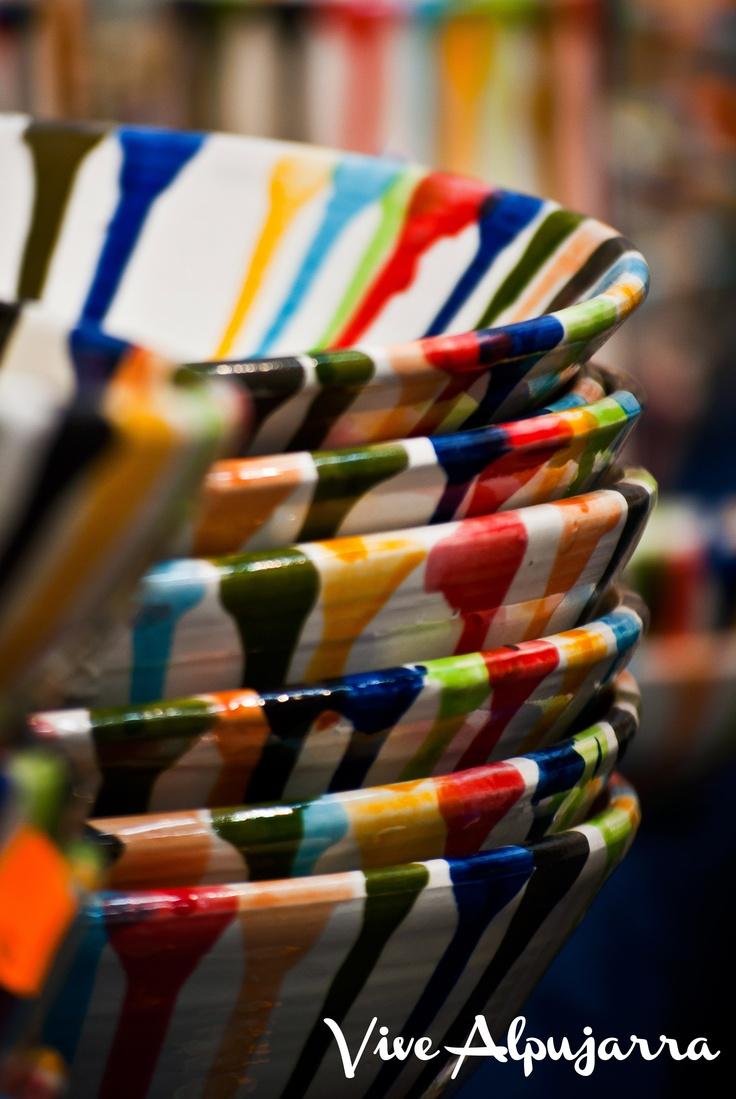 Cerámicas producidas en Fondón. Pura artesanía de La Alpujarra. Vive Alpujarra