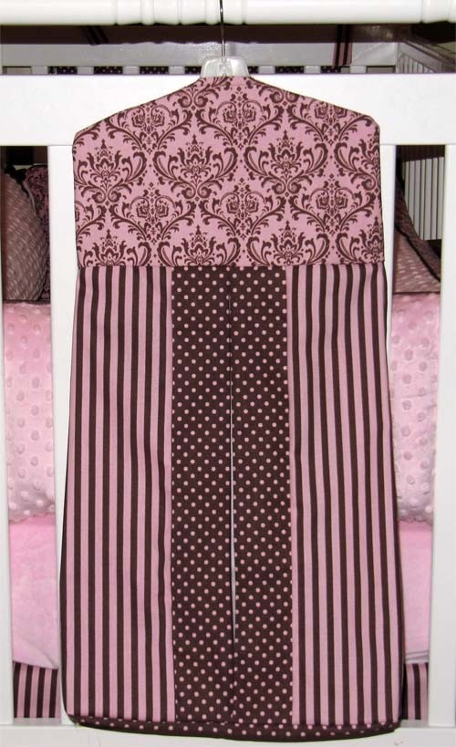 Rachel collection diaper stacker.
