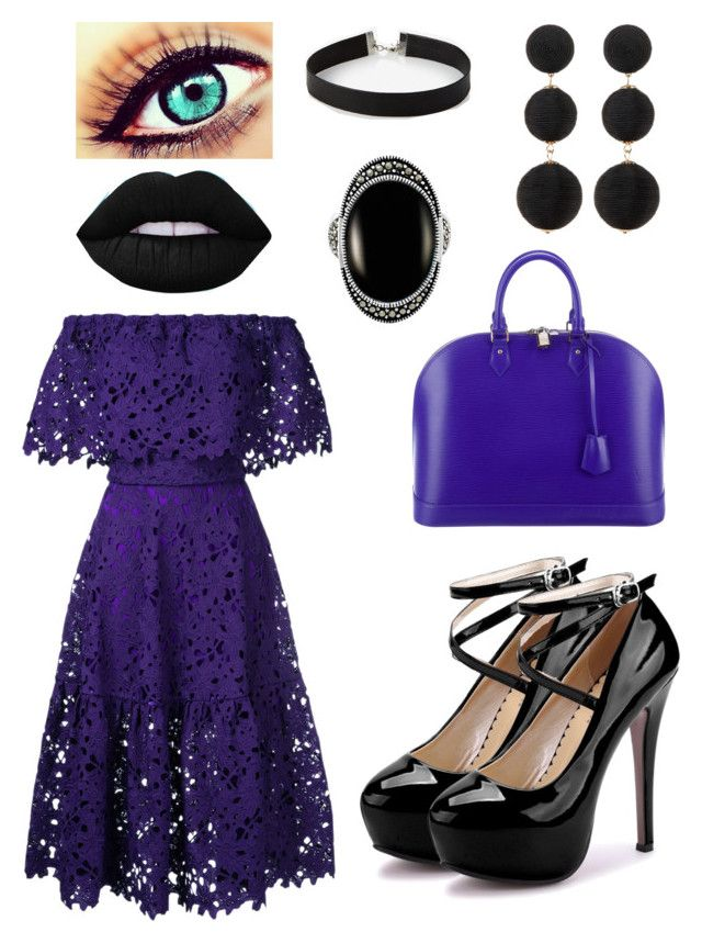 """""""Charter"""" by olahtory on Polyvore featuring Bambah, Louis Vuitton, Express, Le Vieux and Cara"""