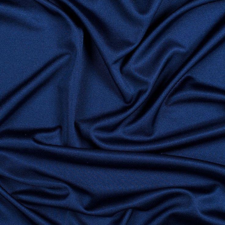 Estate blue silk knit jersey sewing inspo pinterest for Fashion fabrics