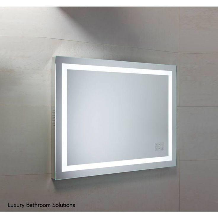 Awesome Websites BEAT Luxury Designer Illuminated LED Backlit Bathroom Mirror with Bluetooth Summer Sale Now On