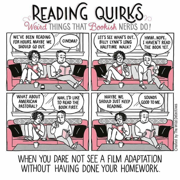 Reading quirks!