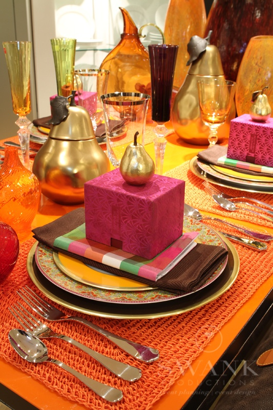 Modern Moroccan Table Setting for Bloomingdales NYC & 88 best Conference Call images on Pinterest | Conference call Event ...