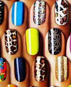 Όμορφα nail designs για αρχάριες