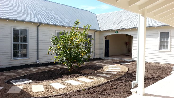 Mature Planting to courtyard