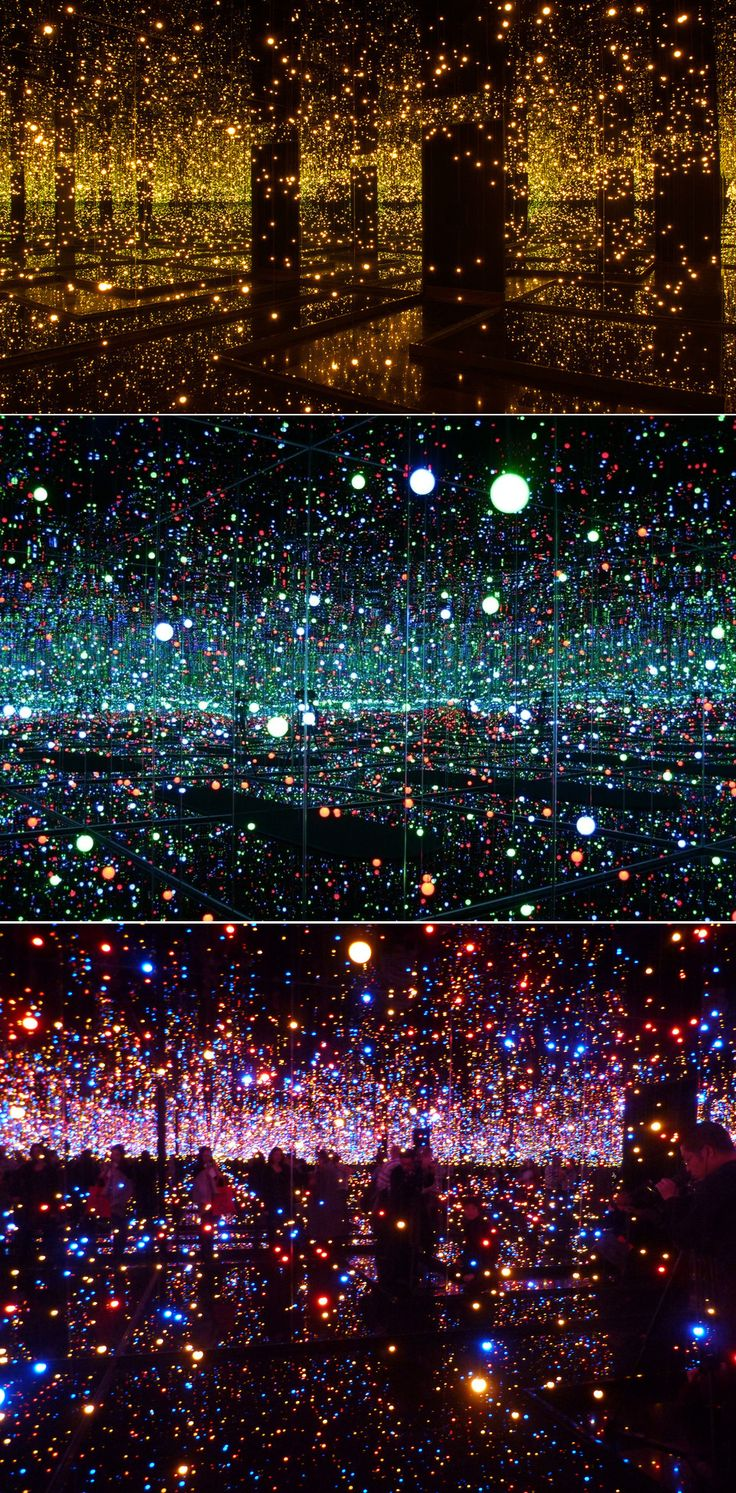 Yayoi Kusama's Mirror and LED Light Installations | 20 Times That Art And Design Inspired Awe In 2013