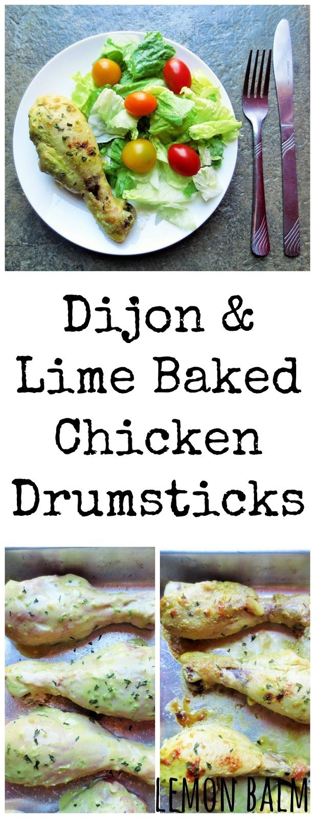 Baked Chicken With Dijon And Lime Recipe — Dishmaps