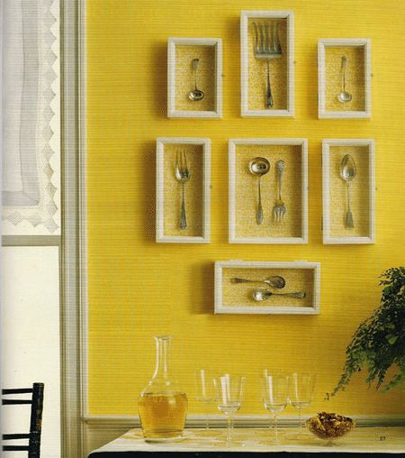 Kitchen Wall Decor Bed Bath And Beyond: 22 Best Spoon Collection Displays Images On Pinterest