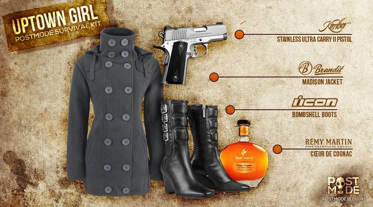 UPTOWN GIRL Survival Kit