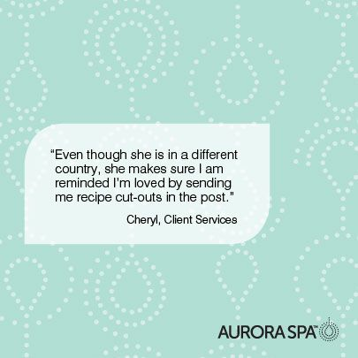 We love our mum's at Aurora Spa!