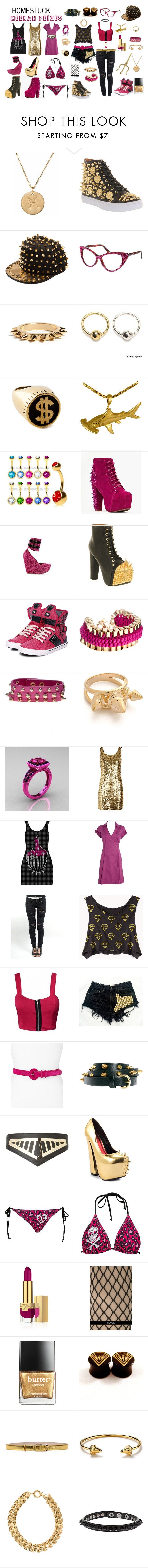 """""""Homestuck Fashion: Meenah Peixes"""" by khainsaw ❤ liked on Polyvore featuring Nashelle, Jeffrey Campbell, Talullah Tu, Maria Francesca Pepe, *Accessories Boutique, Pastry, John & Pearl, Noir Jewelry, Moschino and J by Jasper Conran"""