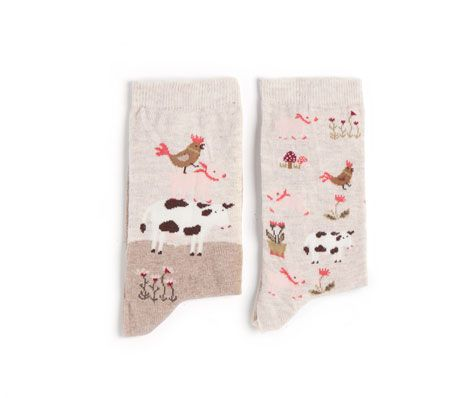 Pack of farm print socks - OYSHO