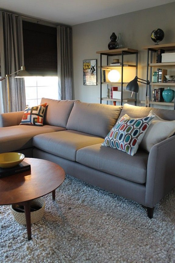 Living Room On Pinterest Sectional Sofas Ottomans And Living Rooms