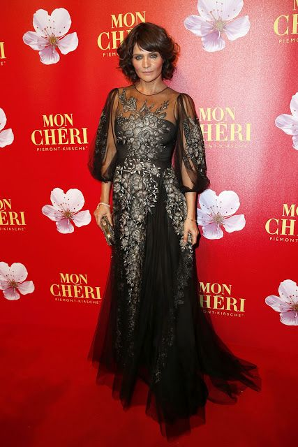 Fashion fan blog from industry supermodels: Helena Christensen - t Mon Cherie Barbara Tag 2015...