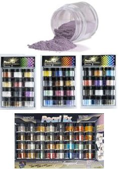 Pearl Ex Products - Everything you want to know about them!...what they can be mixed with and what they can be applied to, etc!