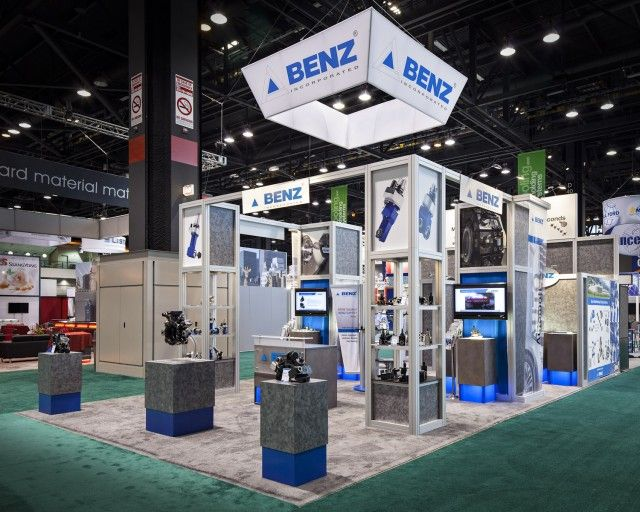 Top Trade Show Booth Designs Of 2012 Tradeshows