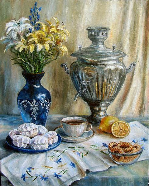 Воробьева Ольга. Приглашение к чаю
