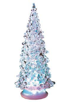 Juletre med led lys 20cm