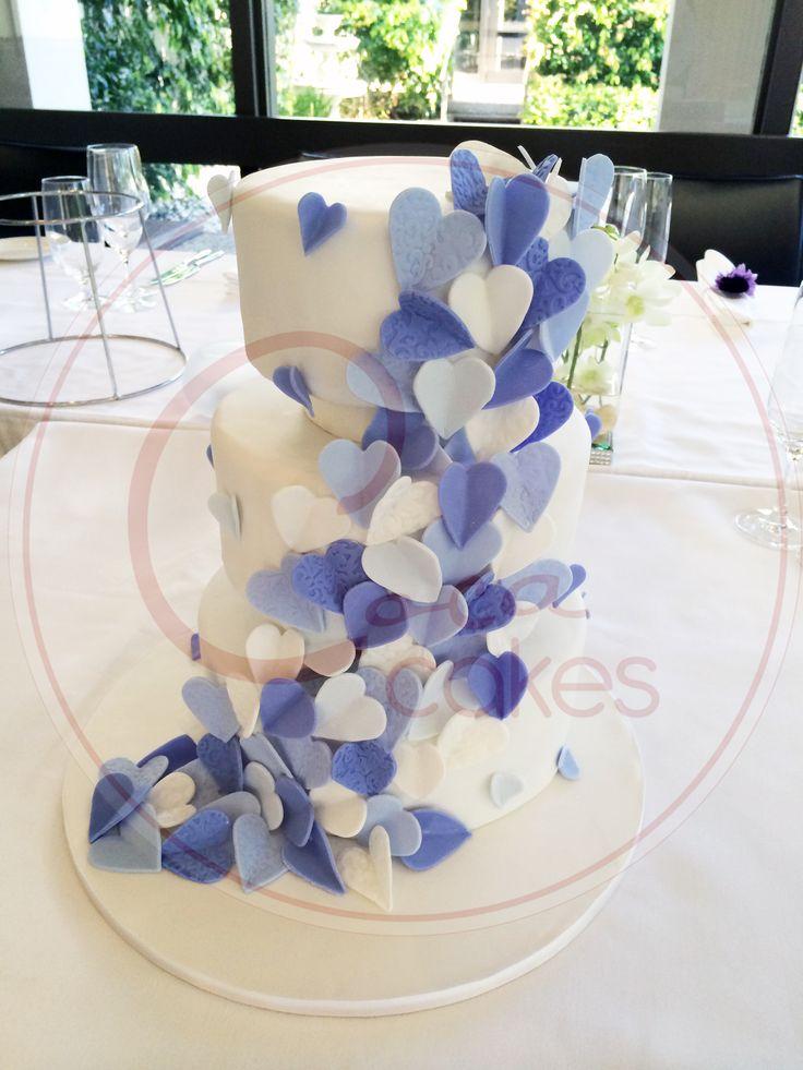 Coca Cakes - Wedding - Purple Hearts
