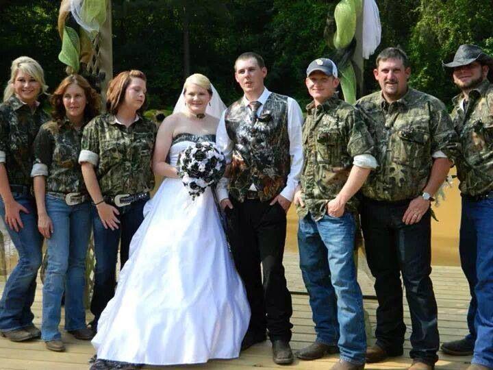 Semi Casual Wedding Party