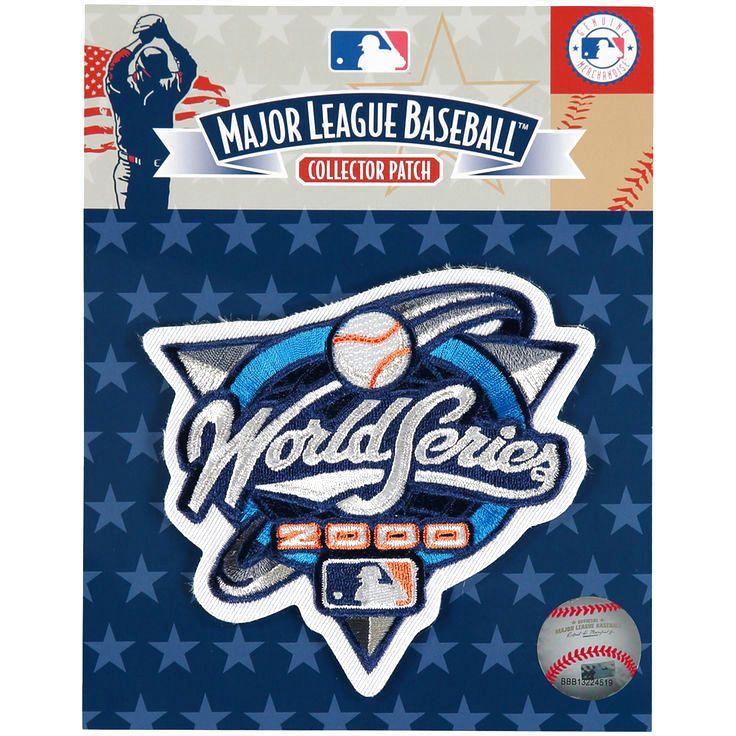 "MLB 4"" x 4"" 2000 World Series Patch - $10.39"