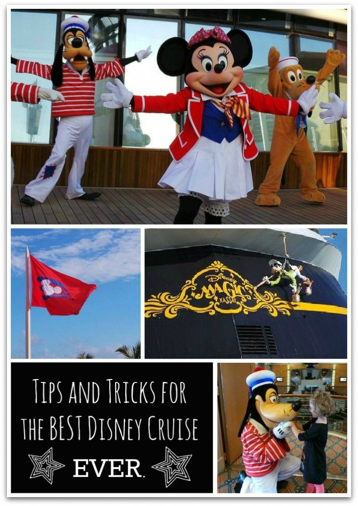 Tips and Tricks for the Best Disney Cruise Ever...@Peggy Bernard