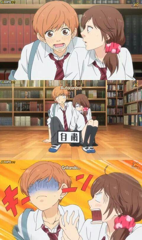 Ao Haru Ride  Y esa fue la vez que Futaba y Toma perdieron la inocencia en su manos XDDDD