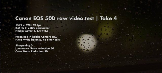 Canon EOS 50D raw video test - ISO 12.800 (H2) by Julian Huijbregts. Shooting raw video on a Canon EOS 50D. Thanks to Magic Lantern!