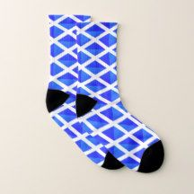 All Over Print Socks with Flag of Scotland