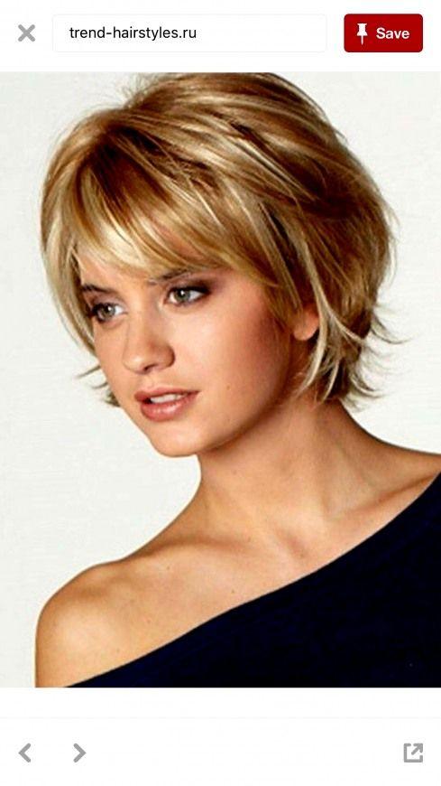 trendy kurzhaarfrisuren rundes gesicht dünnes haar