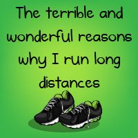 The terrible and wonderful reasons why I run long distances - The Oatmeal. --This made me think of you, Gaby.    (6 part comic, be sure to read all of it)