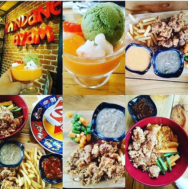 . Biasanya hari minggu itu kebanyakan makan diluar, nah @kandang_ayam pilihan tepat, semua tersedia,mau makan berat,ringan,dessert ada semua 😍😍 . Jdi tgu apalagi, ambil kunci motor / mobil, 📱 pasangan, bagi yg jomblo ajak temen ajahh😆😆 #duhkasian . Thx sis @fuzawati udh mampir di @kandang_ayam , udh bela2 in jepret sana sini dan cobain semua menu nya, mang mimin mau kasih free 1 porsi medium buat sis @fuzawati (berlaku 16-23 oktober 2016) Mang mimin tunggu di @kandang_ayam ya bro / sis…