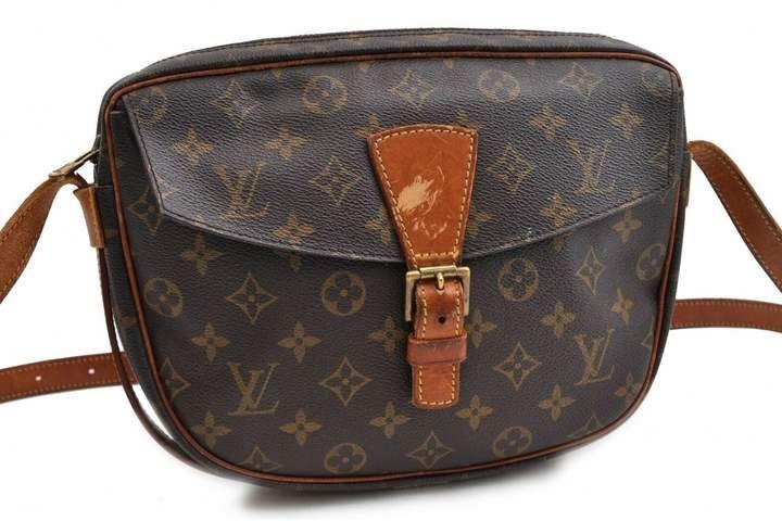 Louis Vuitton Vintage Brown Cloth Handbag