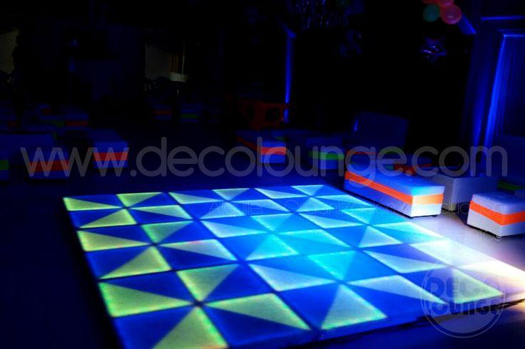 muebles y pistas de baile led para eventos